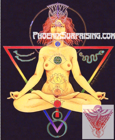 Kundalini Lady by Phoenix & Arabeth