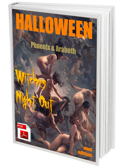 Halloween Witches Night Out ebook by Phoenix & Arabeth